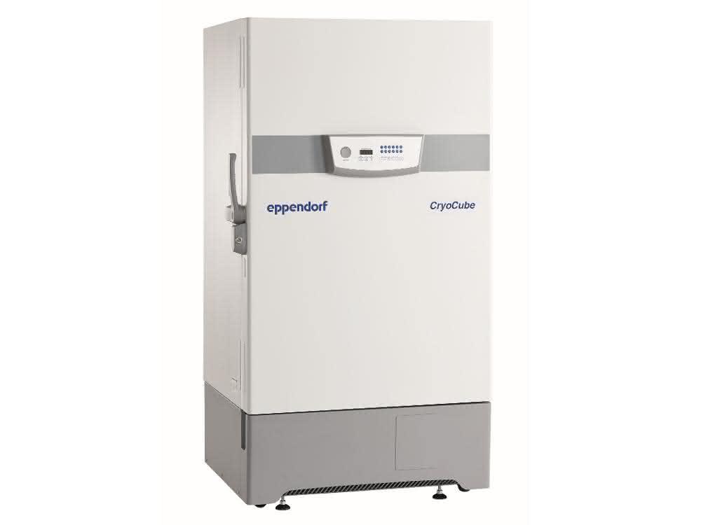 Das Ultratiefkühlgerät CryoCube F740h von Eppendorf.