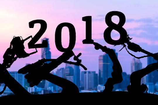 Industrieroboter 2018