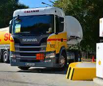 BioLNG EuroNet: Scania unterstützt groß angelegte Markteinführung gasgetriebener Lkw