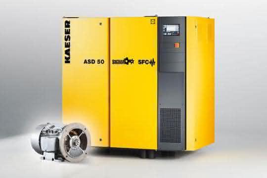 Schraubenkompressoren der ASD-Baureihe