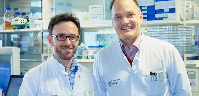 Dr. Ron Jachimowicz (links) und Univ.-Prof. Dr. Christian Reinhardt