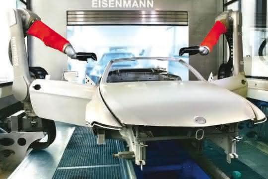 Lackiertechnik in der Automobilproduktion