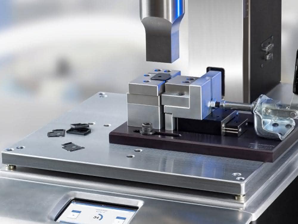 Ultraschall-Schweißen kleiner Kunststoffteile