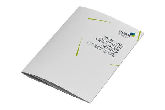 Broschüre: Leitlinien für Verputzarbeiten aktualisiert