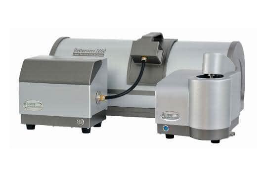 Der Bettersizer 2600 von 3P Instruments.