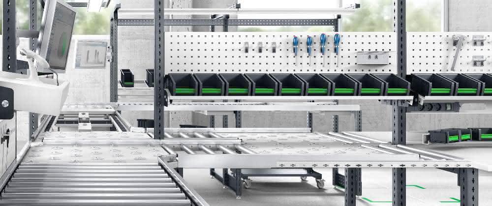 LogiMAT 2019: avero Arbeitsplatzsystem im Fokus