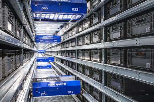 Shuttle-System der 4. Generation von psb intralogistics