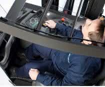 Der Fahrer steht bei Unicarriers im Mittelpunkt