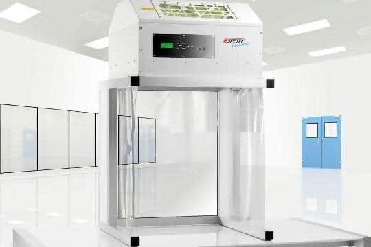 Die CleanBoy-Reinraumstation von Spetec