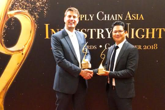 "Asien: Award ""Supply Chain Transformation of the Year"""