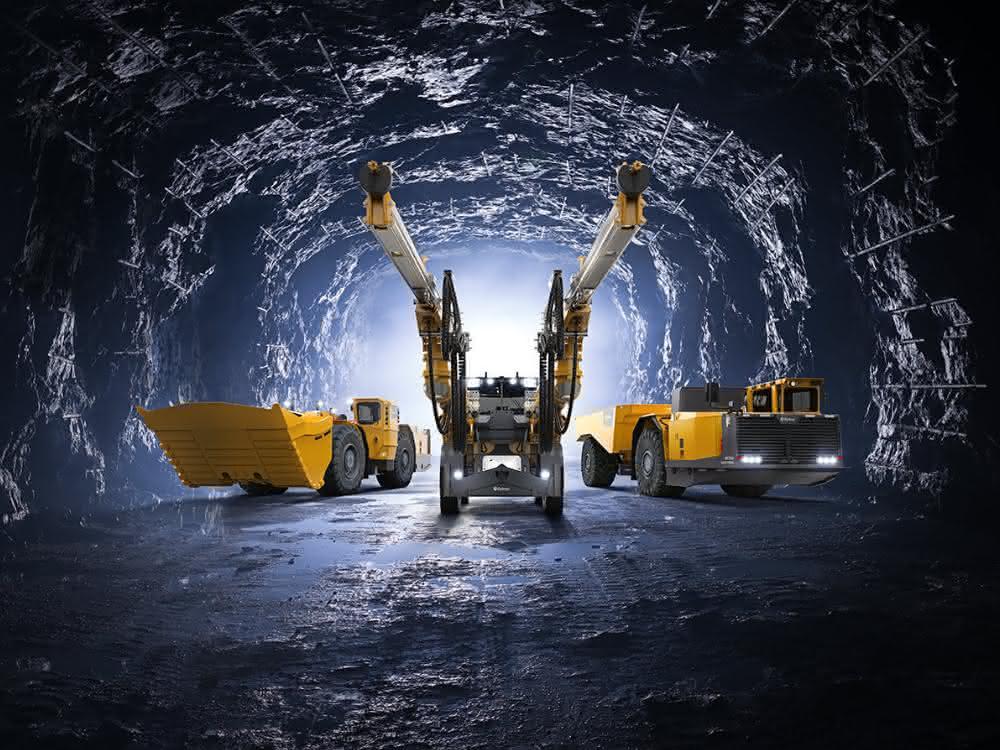Epiroc stellt batteriebetriebene Maschinen für den Bergbau vor