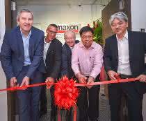 Maxon verstärkt Präsenz in Südostasien
