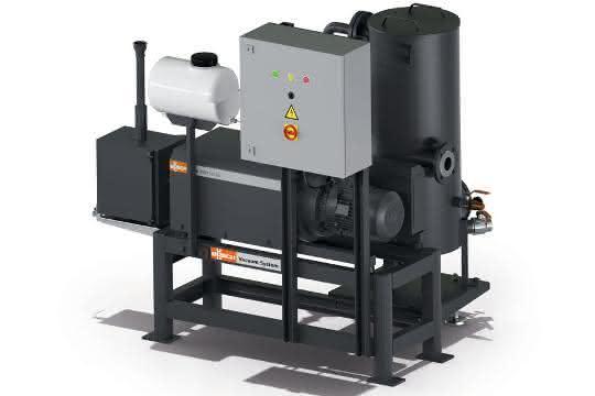Vakuumsystem zur Entgasung von Kunststoffschmelzen