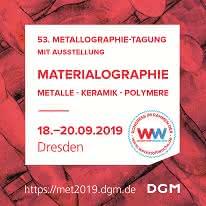 53. Metallographie-Tagung