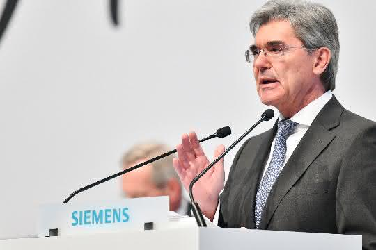 Joe Kaeser auf der Siemens-Hauptversammlung 2019 in München.
