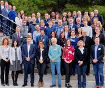 Gruppenbild Kick-Off Meeting des Projekts in Castelldefels/Barcelona, Spanien