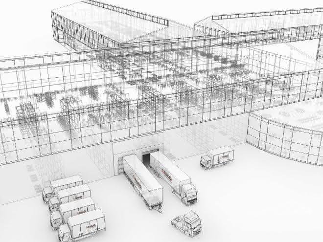 Wankos universelle Logistiksteuerung
