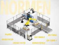 Sichere Integration von Industrierobotern