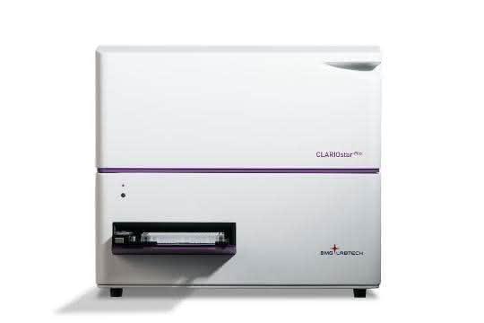 Wurde u.a. für Life-Sciences-Labore in Industrie und Akademia entwickelt: der Clariostar Plus.