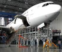 Guenzburger-Flugzeugwartung