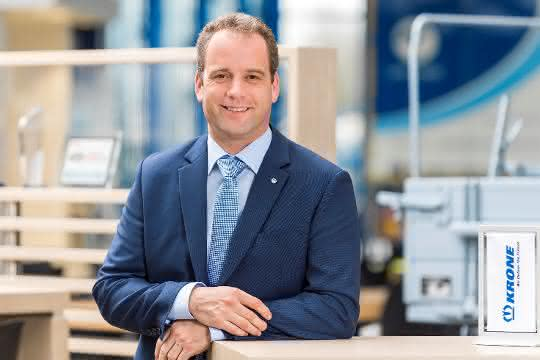 Spitzenposition neu besetzt: Ansgar Jansen ist neuer Vertriebsleiter bei Krone
