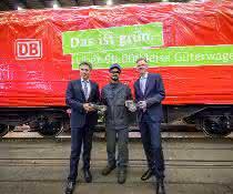 """Auf leiseren Sohlen: """"Flüsterbremsen"""" für über 50.000 Güterwagen"""