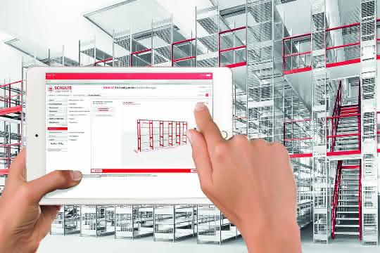 LogiMAT 2019: 3D-Planung von Regalen