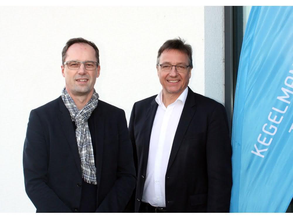 Reiner Nett (links) mit Stephan Kegelmann