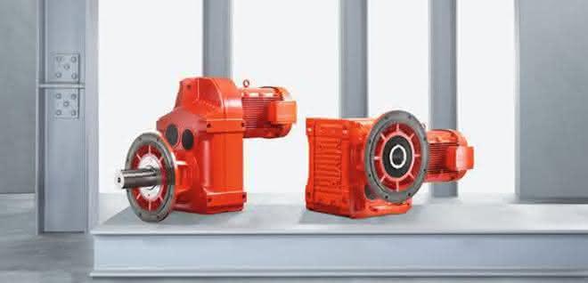 Flach- und Kegelradgetriebe von SEW