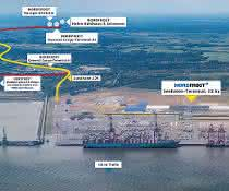 Bauanträge eingereicht: Nordfrost baut in Wilhelmshaven