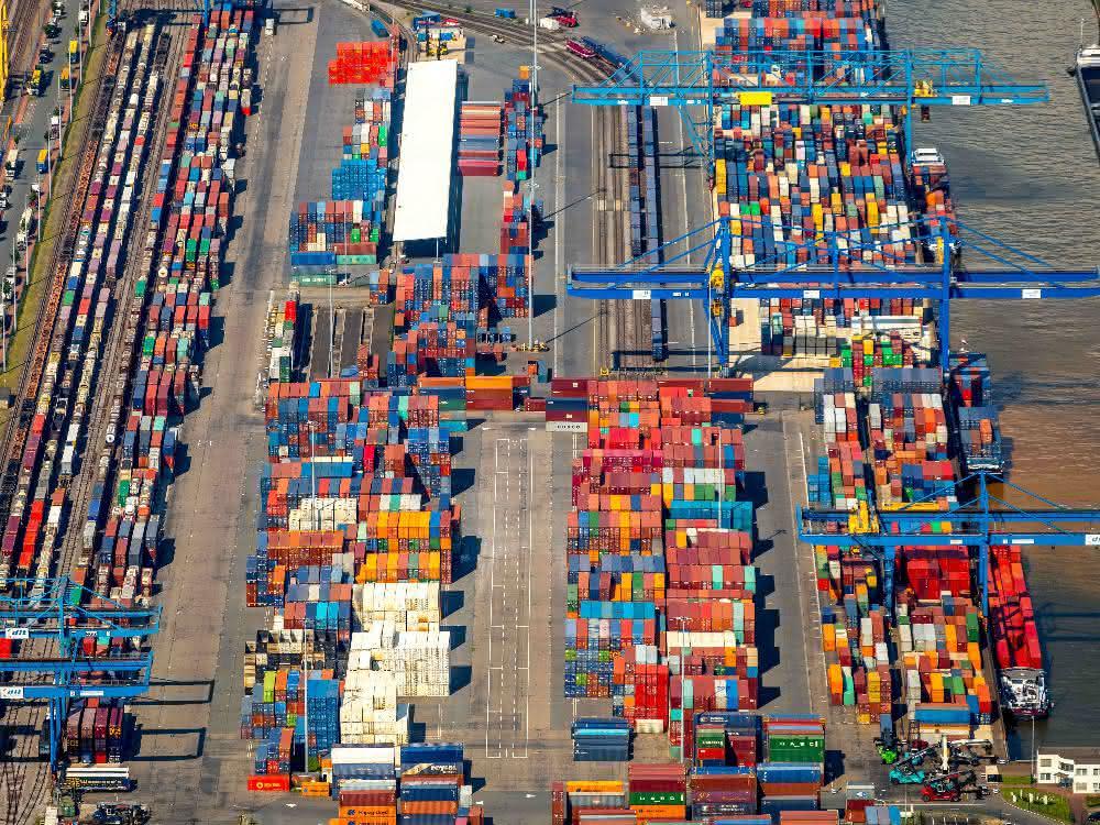 Bilanz 2018: Duisburger Hafen: Containerumschlag stabil