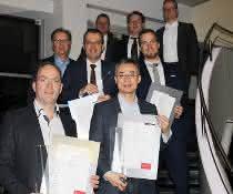 Preisträger und Jury-Mitglieder