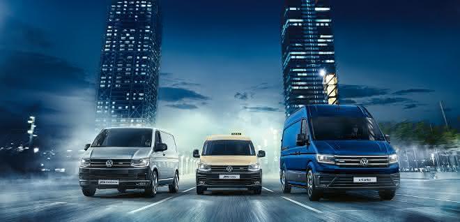 Volkswagen Nutzfahrzeuge startet erfolgreich ins neue Jahr