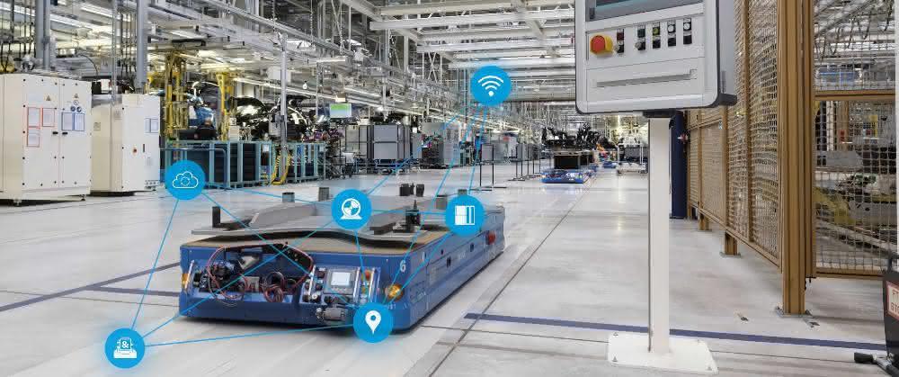 Siemens zeigt Lösungen für die digitale Transformation in der Intralogistik