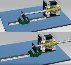 Hybrid-Schrittmotor-Linearaktuator