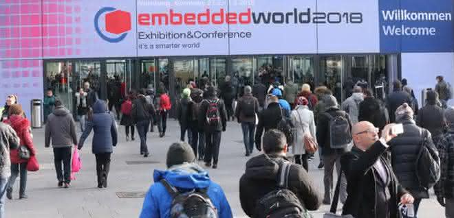 Besucher zur Embedded World