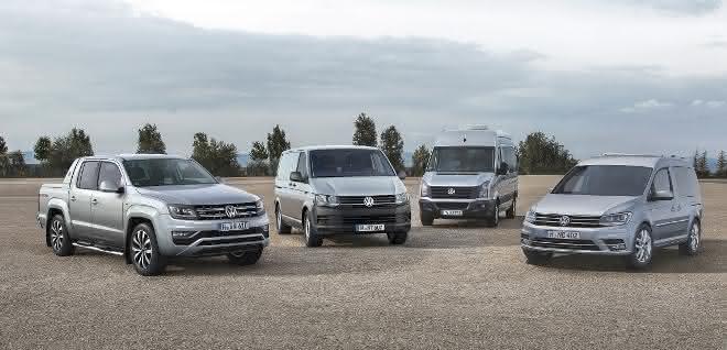 Volkswagen Nutzfahrzeuge feiert Absatzrekord 2018