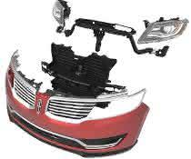 automobiles Frontend Modul in Kunststoff