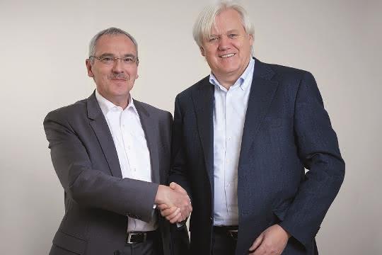 Hans Beckhoff und Martin Kristof