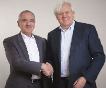 Hans Beckhoff und Martin Kristof