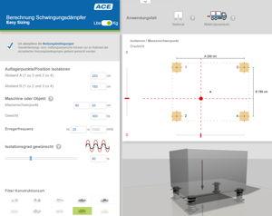 Neues Online-Tool von ACE:: Schwingungsdämpfung von A bis Z