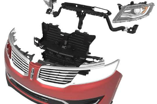 Neudesign eines automobilen Frontend Moduls in Kunststoff