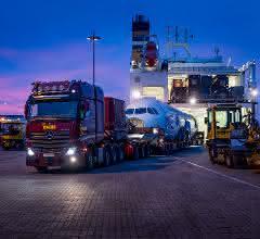 Ankunft im Lübecker Seelandhafen