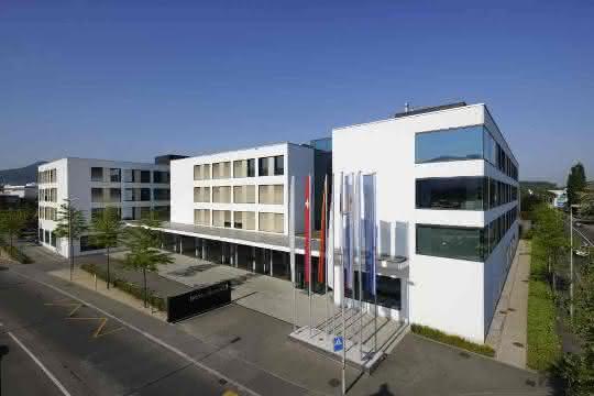 Der Sitz der Endress+Hauser Gruppe im schweizerischen Reinach.
