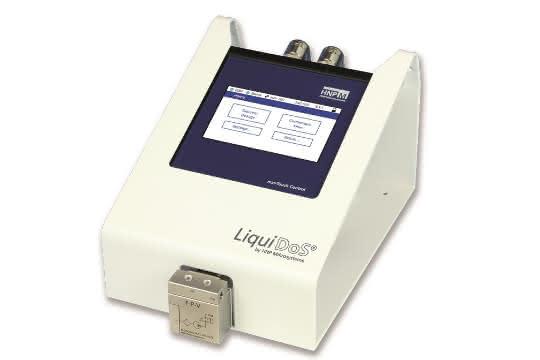 Das Dosiersystem Liquidos von HNP Mikrosysteme.