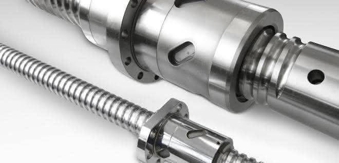 Schwerlast-Kugelgewindetriebe: Bewegung in großen Maschinen