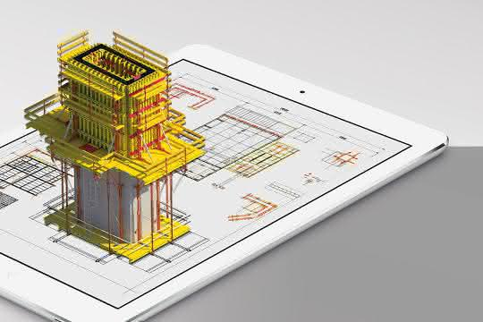 3D-Visualisierung von Bauprojekten
