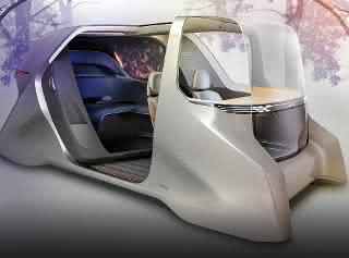 Ridesharing-Fahrzeug