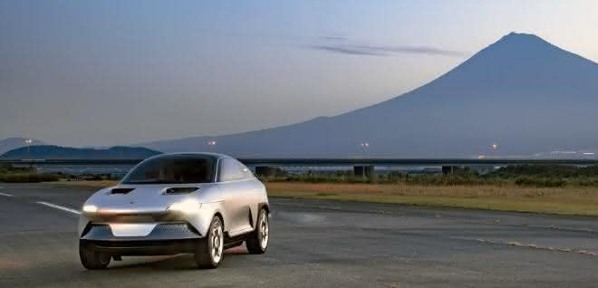 Elektronisches Konzeptfahrzeug