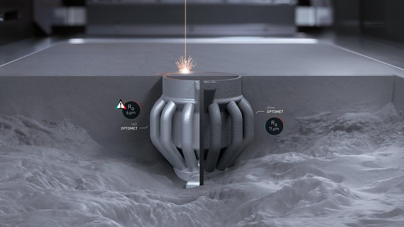 Effizienter Materialaufbau Im Pulverbettverfahren Scope